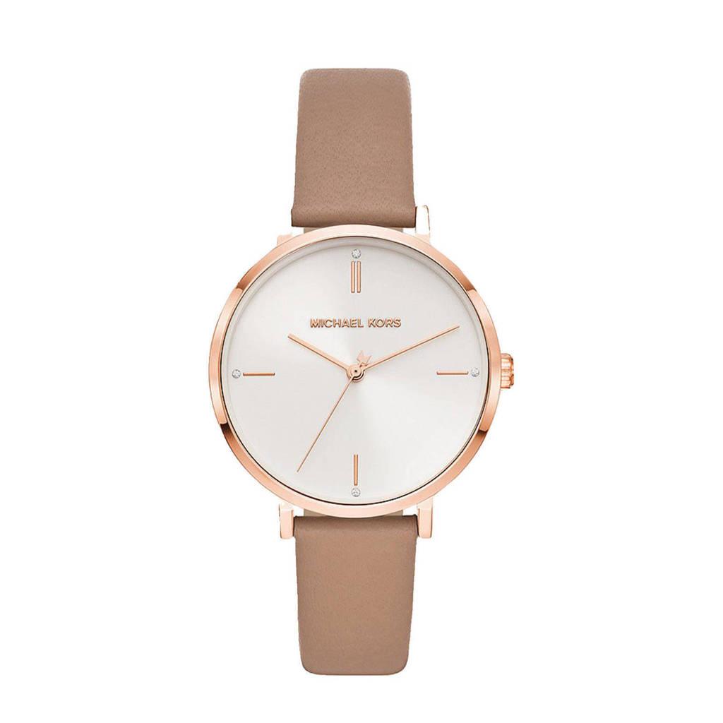 Michael Kors horloge MK7105 Jayne Rosé, Bruin