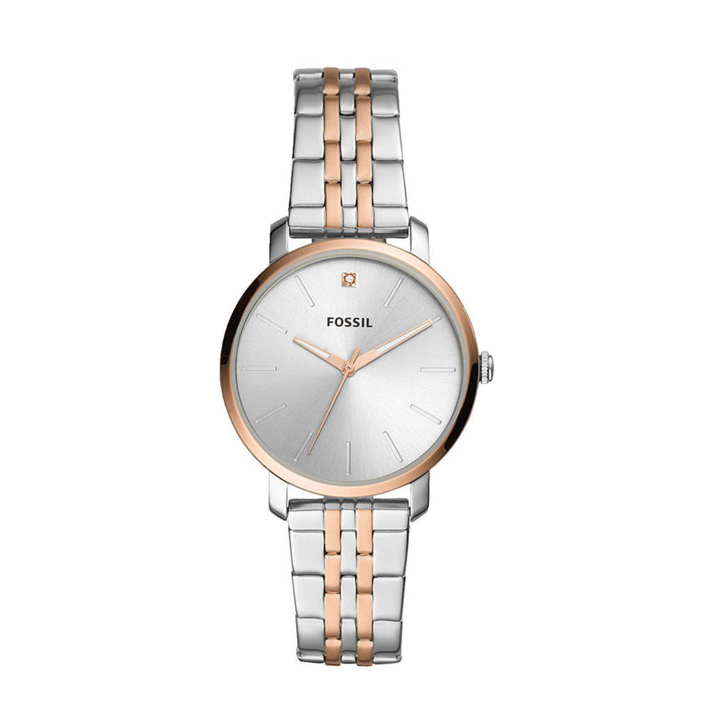 Fossil horloge BQ3568 Lexie Luther Zilver, Zilverkleurig