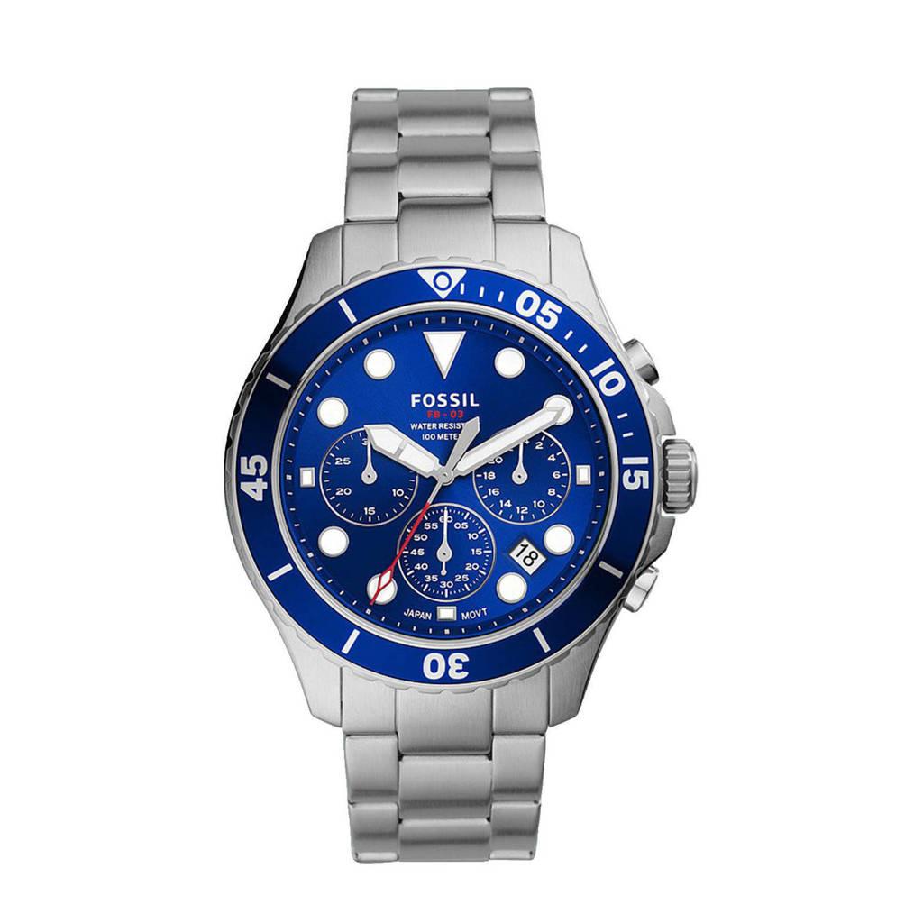 Fossil horloge FS5724 Fb - 03 Zilver, Zilverkleurig