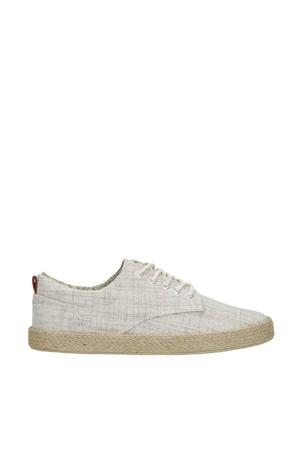 canvas sneakers beige