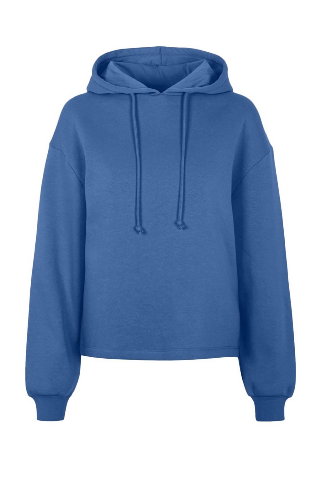 PIECES hoodie Chilli met capuchon blauw, Blauw