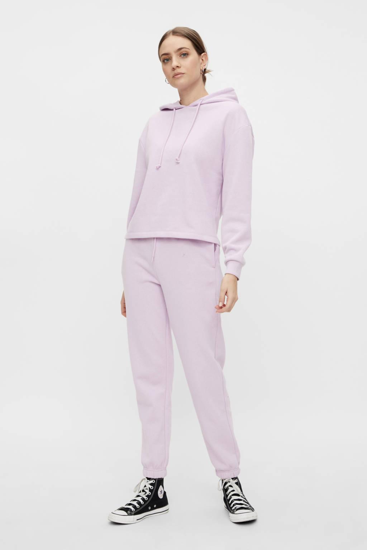 PIECES hoodie Chilli met capuchon lila, Lila