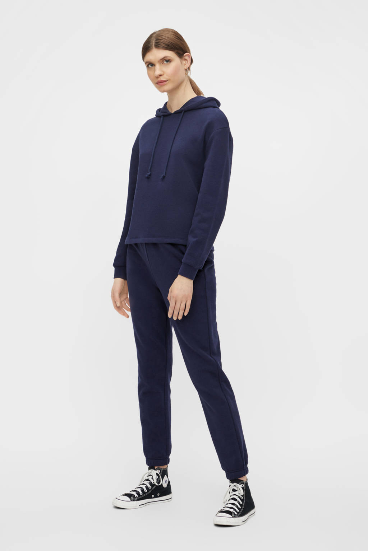 PIECES hoodie Chilli met capuchon donkerblauw, Donkerblauw