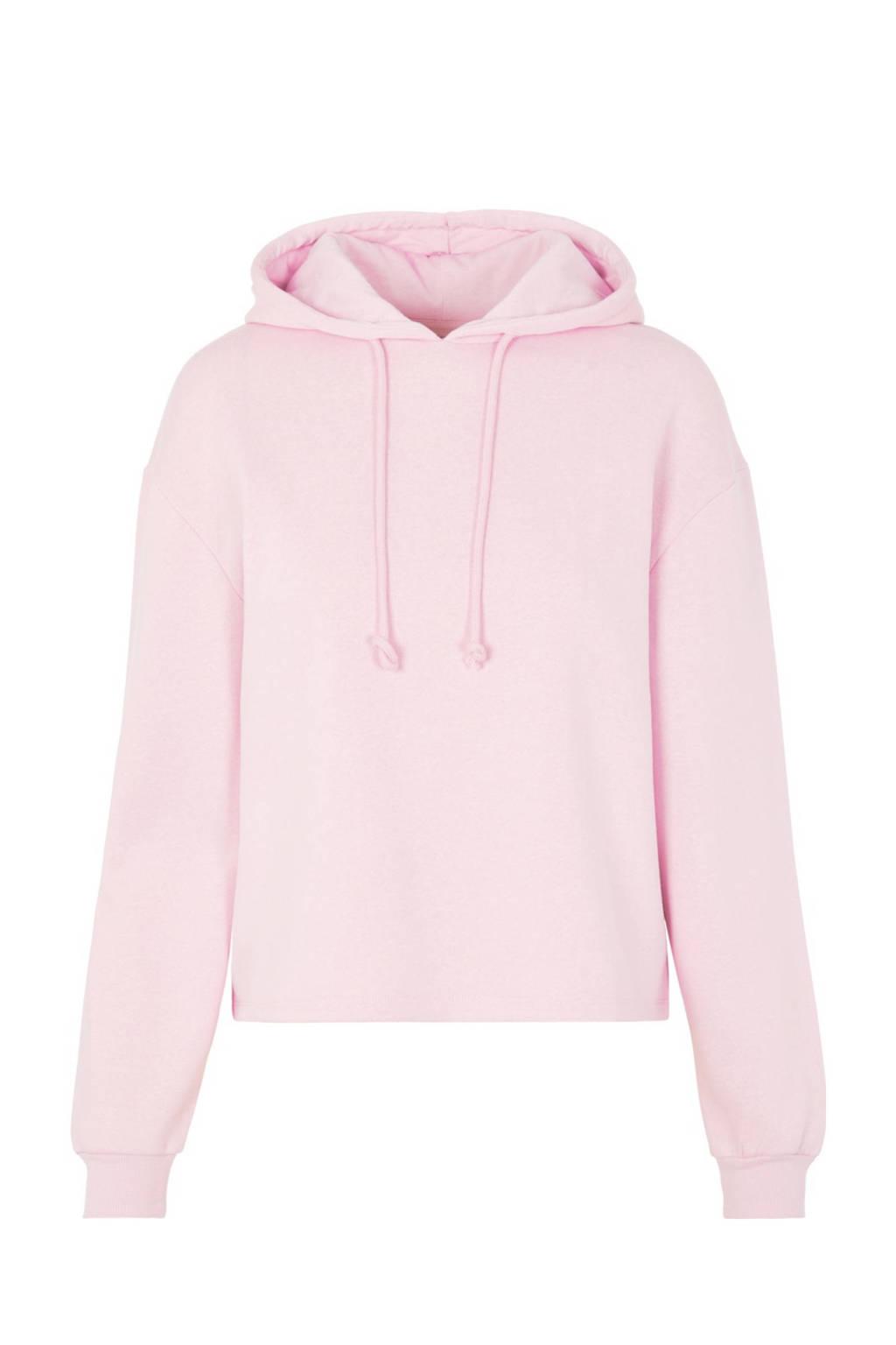PIECES hoodie Chilli met capuchon lichtroze, Lichtroze