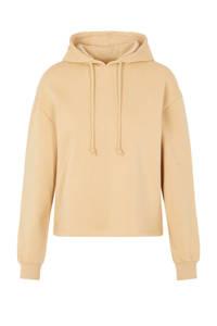 PIECES hoodie Chilli met capuchon beige, Beige