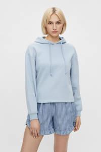 PIECES hoodie Chilli met capuchon lichtblauw, Lichtblauw