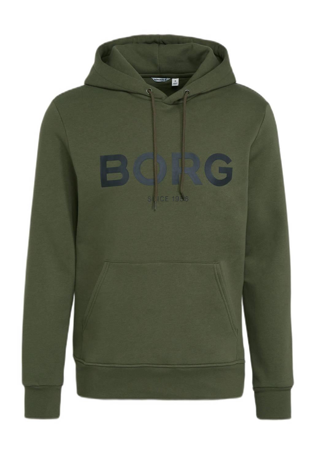 Björn Borg   sporthoodie groen, Groen