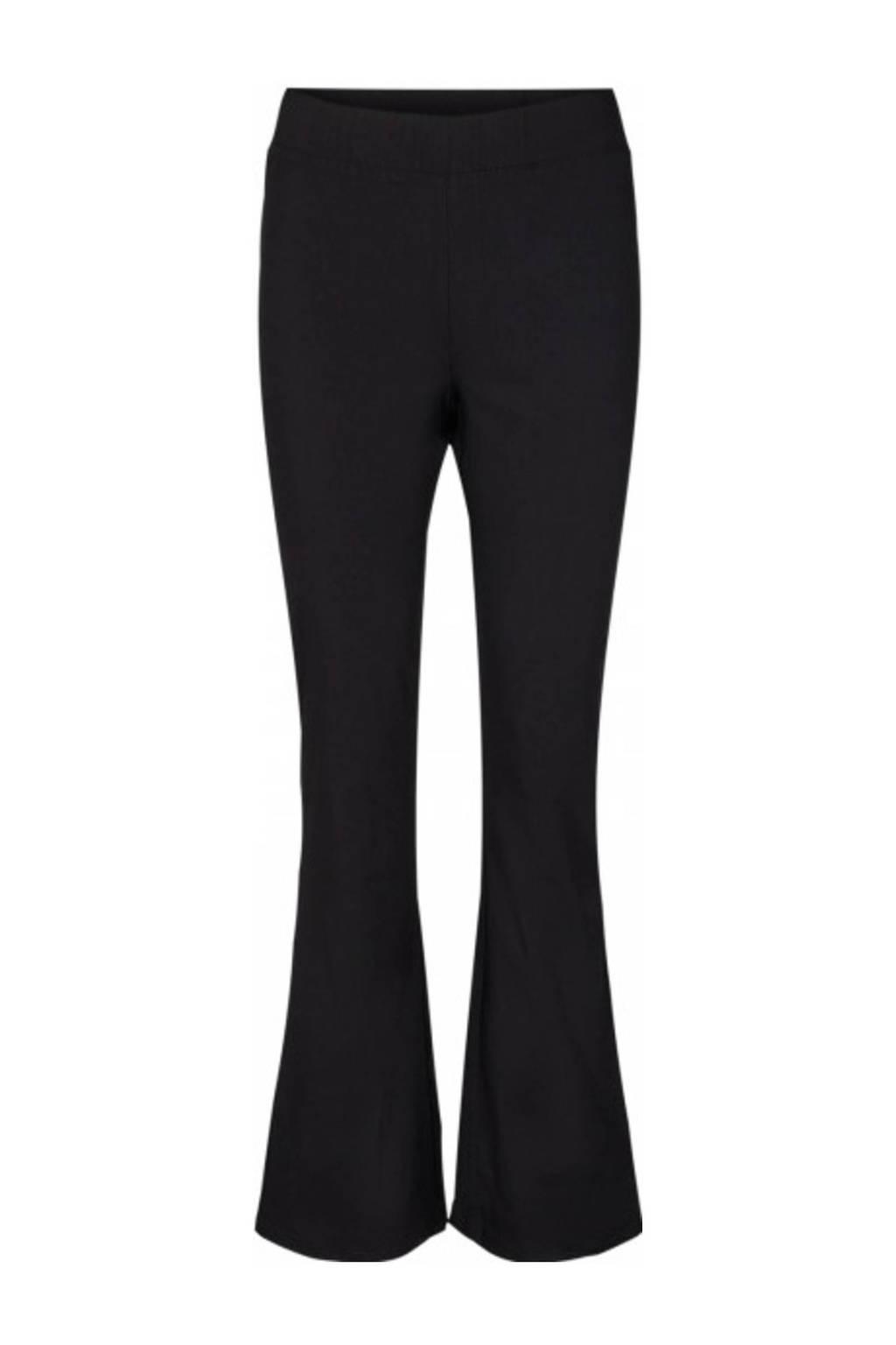 Soyaconcept flared broek zwart, Zwart
