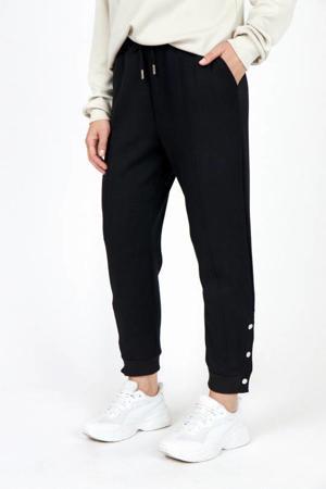 regular fit joggingbroek zwart