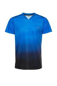 Scapino Dutchy Senior  voetbalshirt blauw/zwart, Blauw/zwart