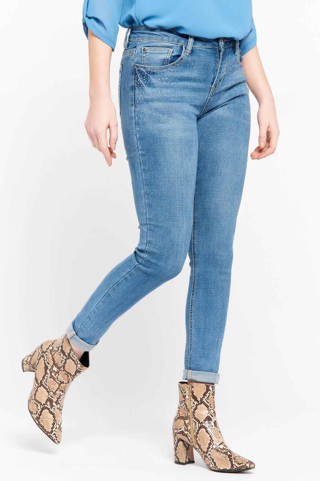 LOLALIZA skinny jeans medium blue, Medium blue