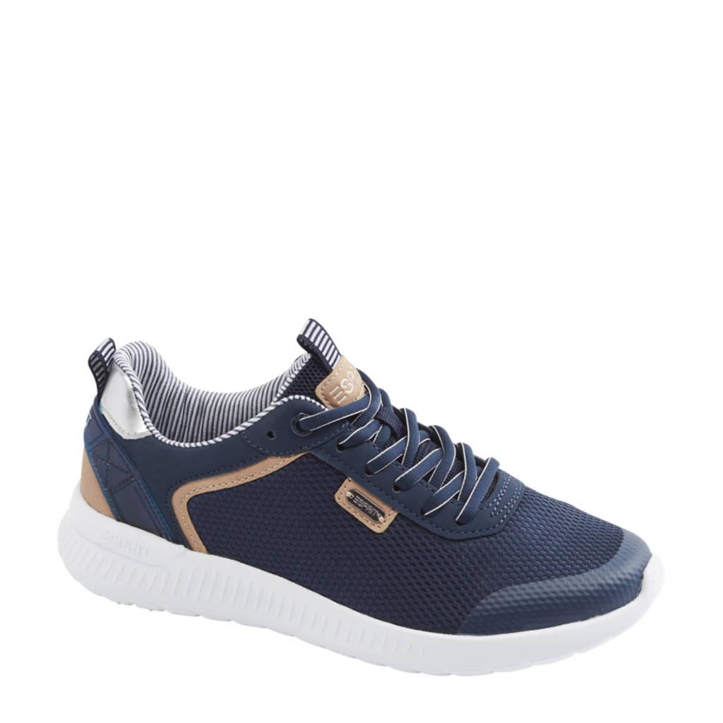 ESPRIT   sneakers blauw, Blauw