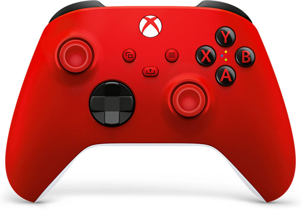 Microsoft Draadloze Xbox Controller (Pulse Red), Rood