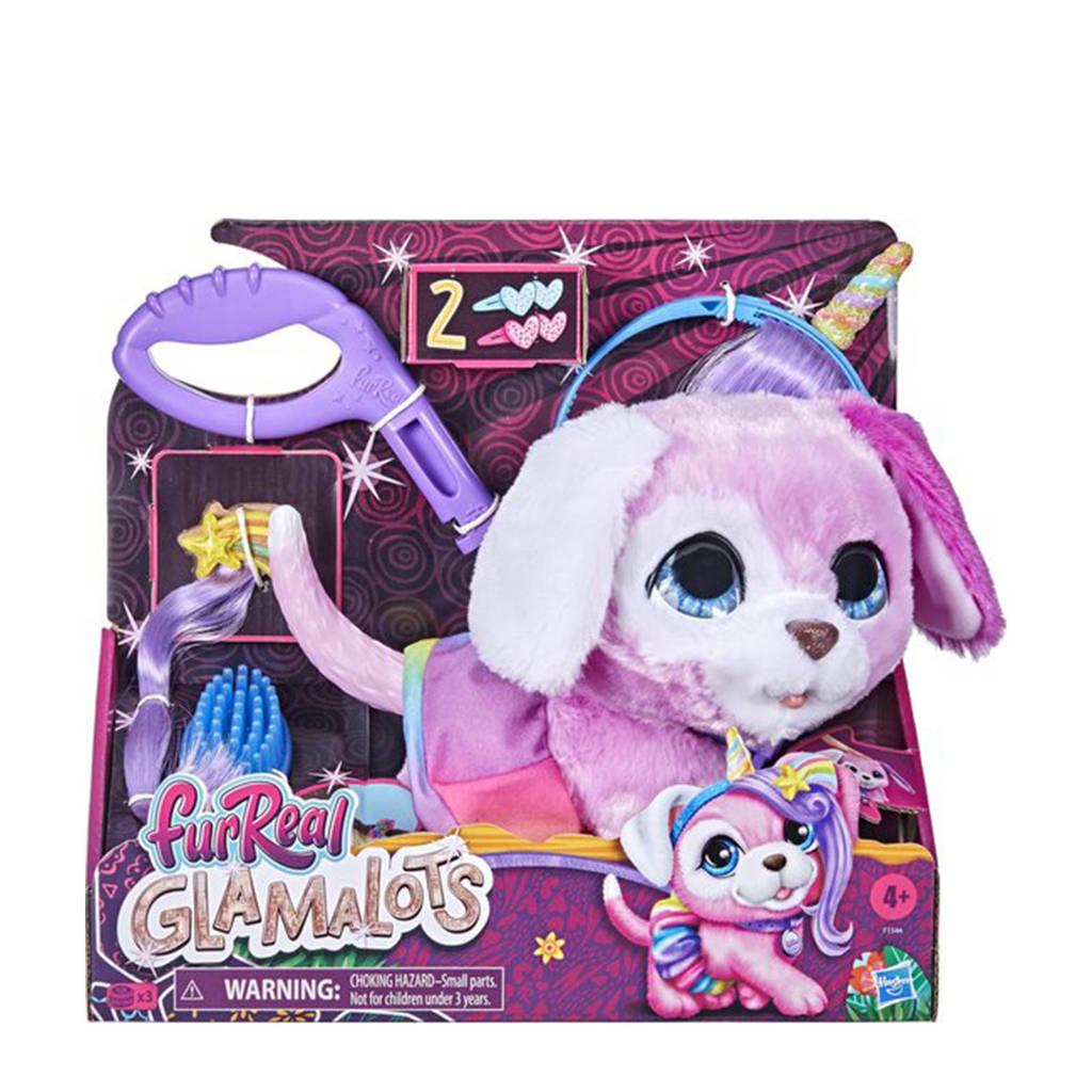 FurReal Friends Glamalots interactieve knuffel, Roze