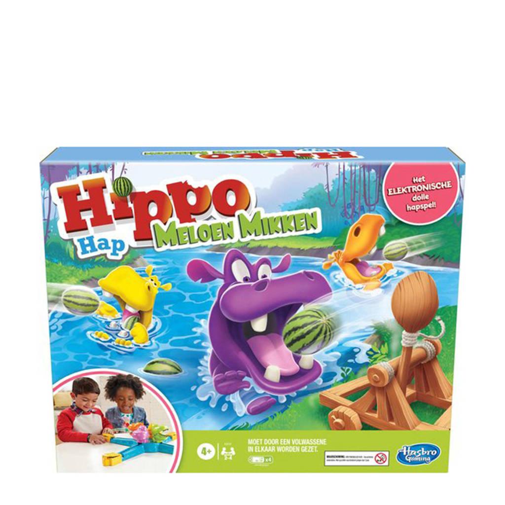 Hasbro Gaming Hippo Hap Meloen Mikken bordspel