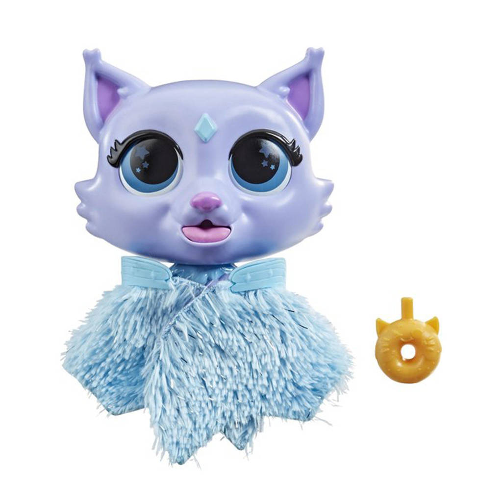 FurReal Friends Feeding Fantasy Flitter de Kitten interactieve knuffel, Multi