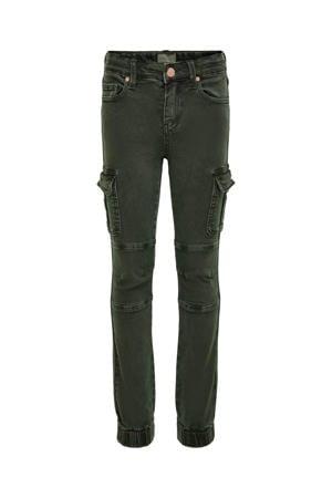slim fit jeans KONMISSOURI groen