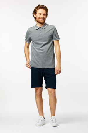 regular fit sweatshort LONG BEACH donkerblauw
