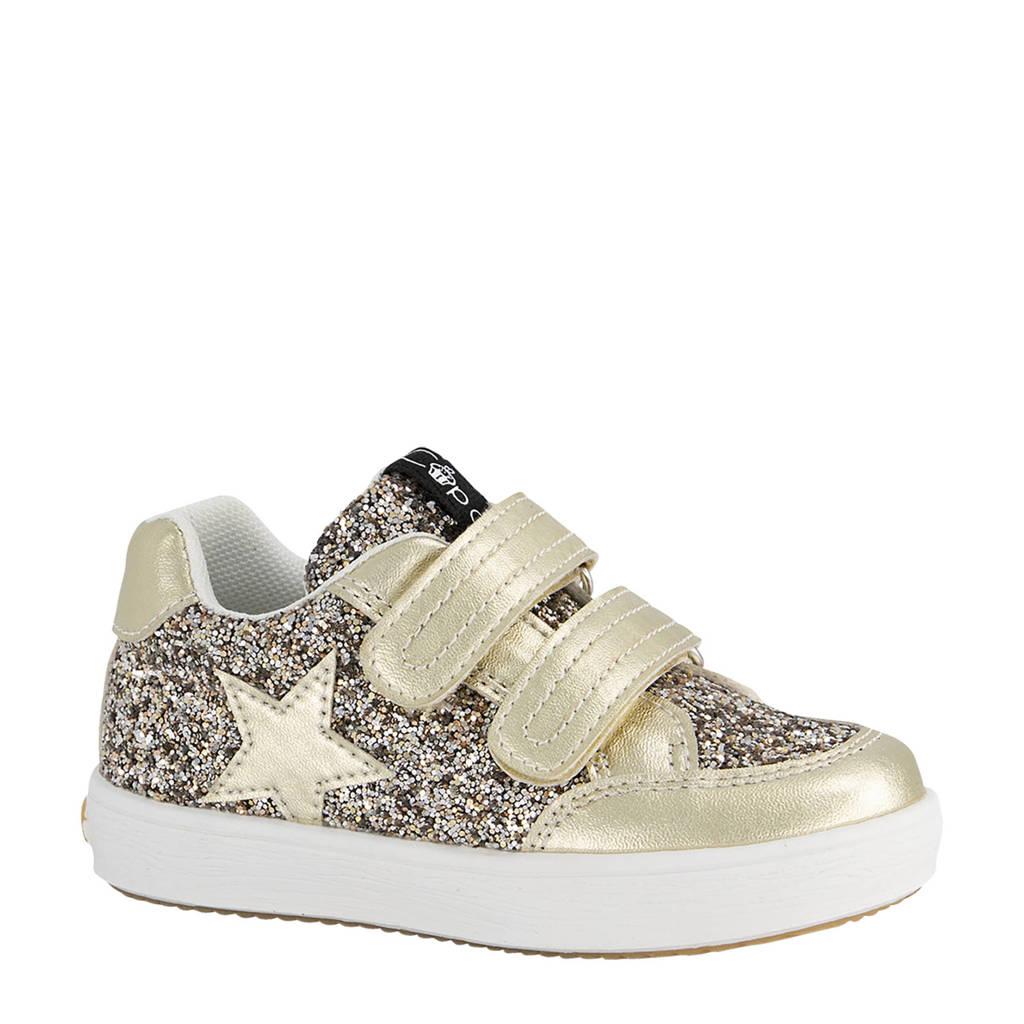 Cupcake Couture   sneakers met glitters goud, Goud