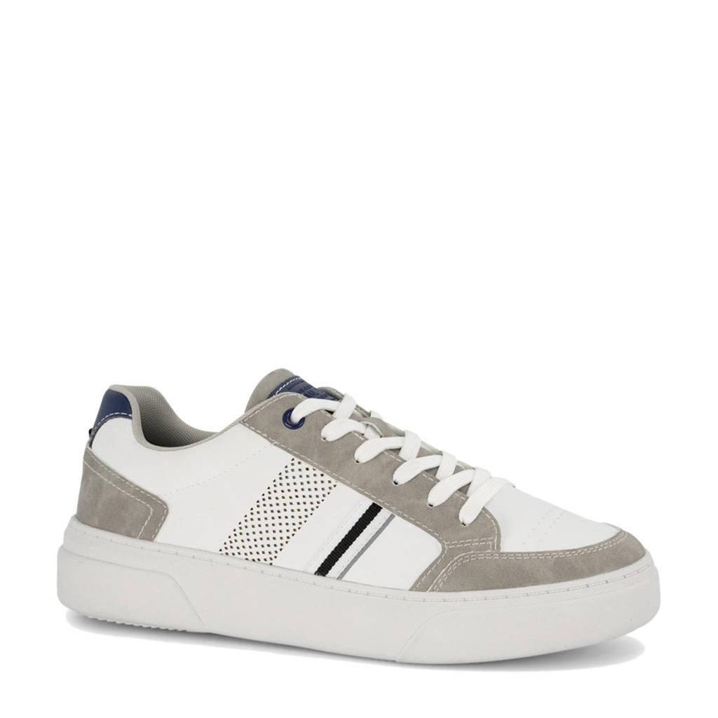 Memphis One   sneakers wit, wit/beige/blauw