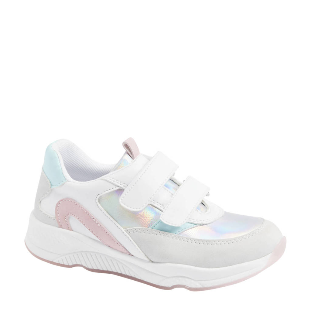 Cupcake Couture   sneakers wit/multi, Wit/lichtroze