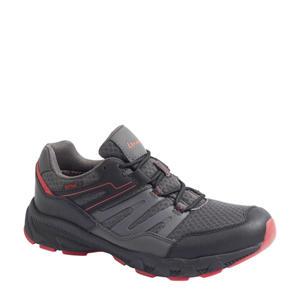 wandelschoenen grijs/rood