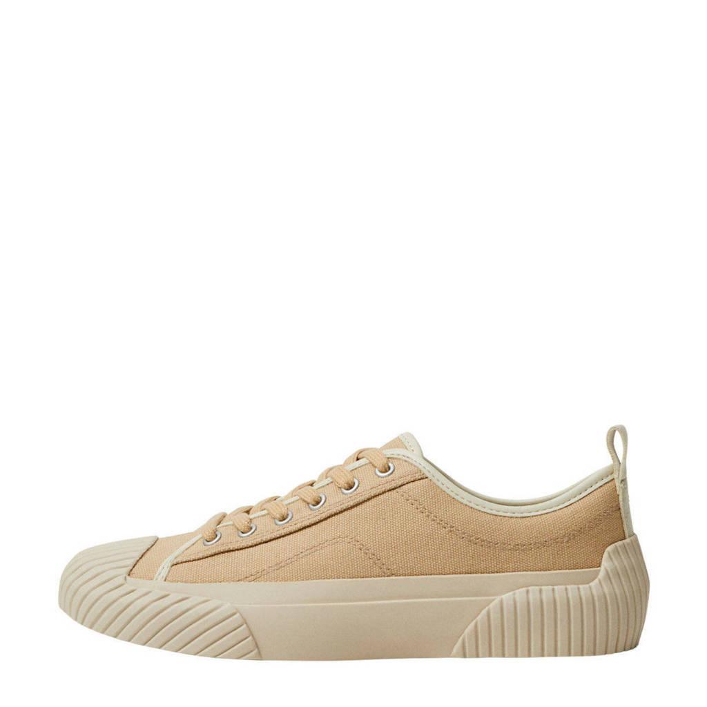 Mango   sneakers beige, Beige/geel