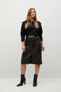 Violeta by Mango sweater zwart, Zwart