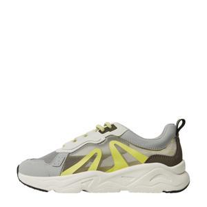 sneakers met transparante panden groen