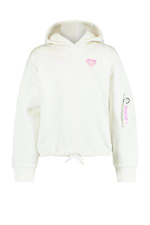 hoodie Suna wit