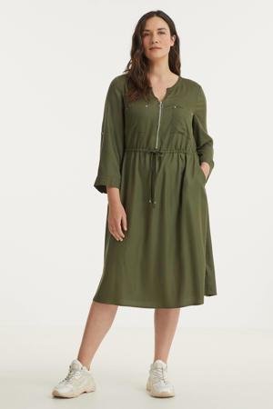 jurk donkergroen