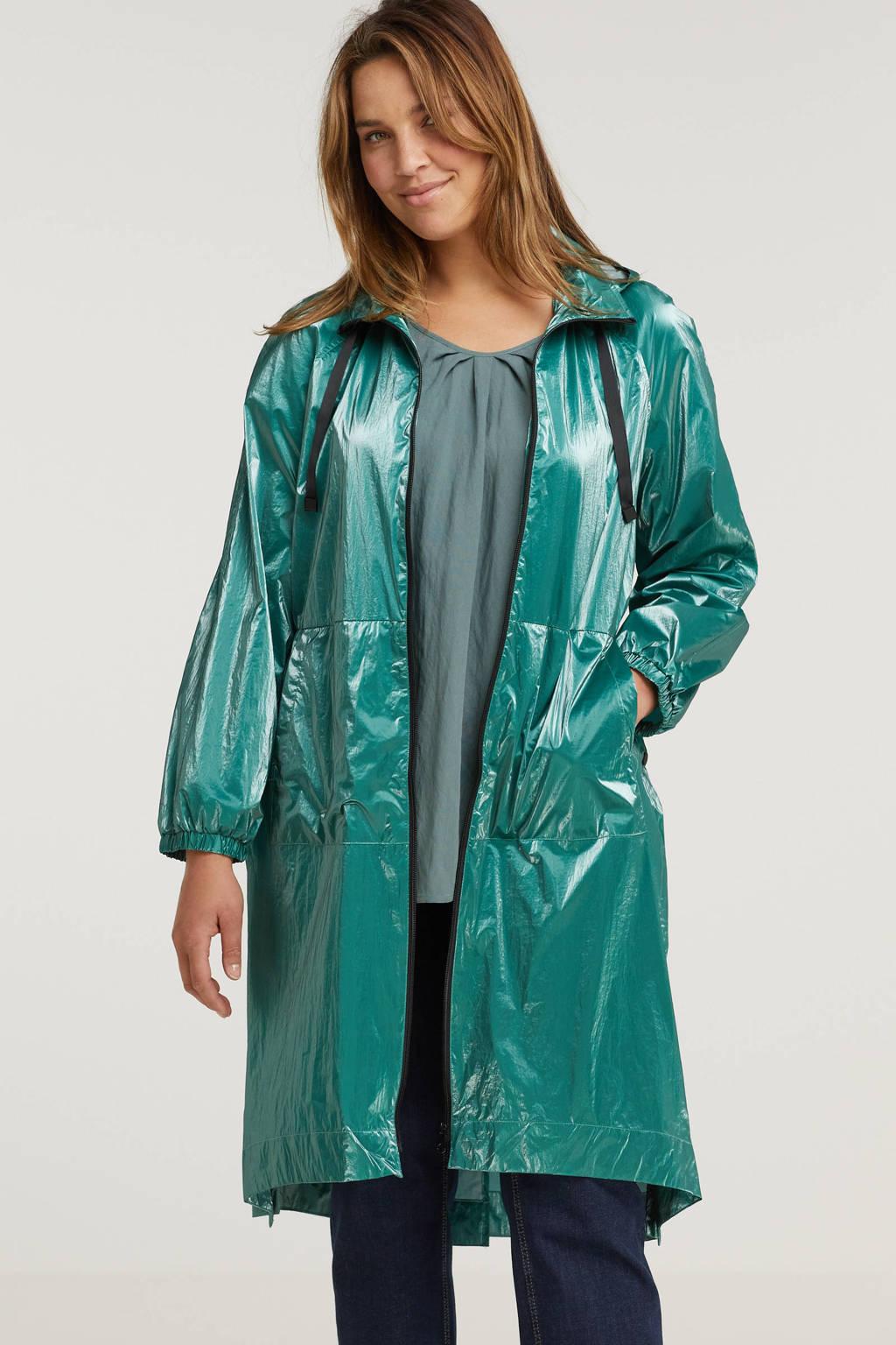 Simply Be regenjas groen, Groen