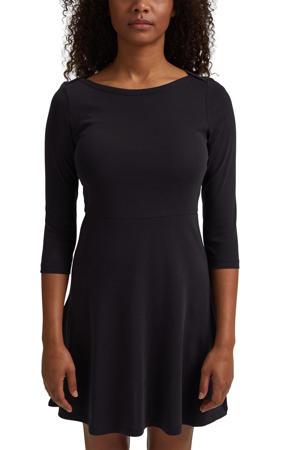 A-lijn jurk van biologisch katoen zwart