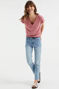 WE Fashion T-shirt oudroze, Oudroze