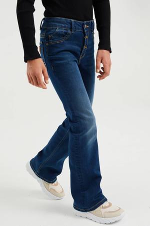 flared jeans stonewashed