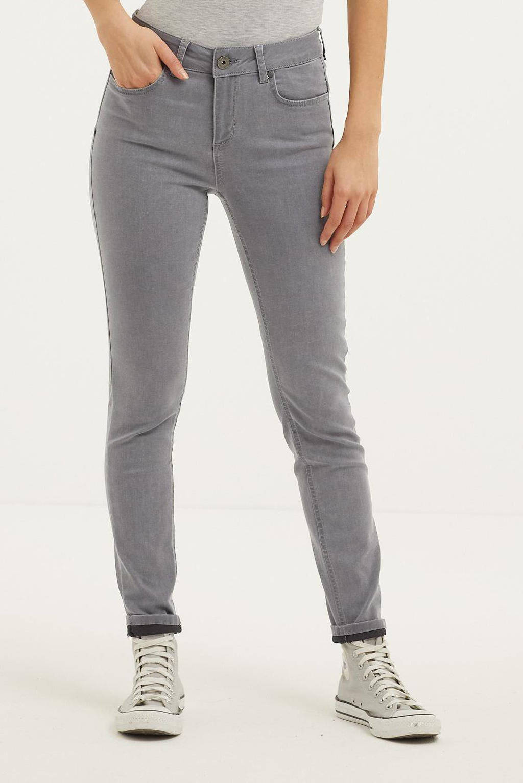 Yest skinny jeans Jay grijs, Grijs