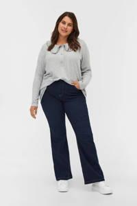 Zizzi high waist bootcut jeans JALBA ELLEN dark denim, Dark denim
