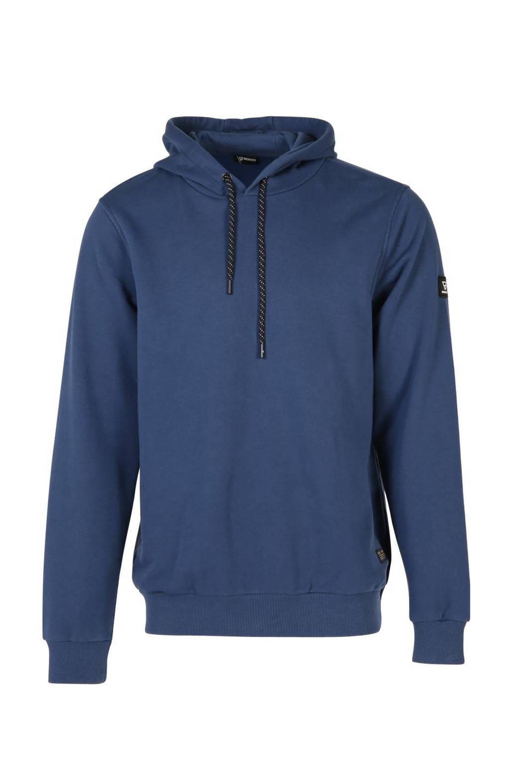 Brunotti outdoor sweater donkerblauw, Donkerblauw