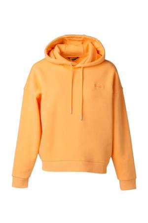 outdoor sweater oranje