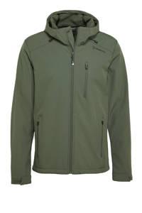 Brunotti softshell jack Mib-N groen, Groen