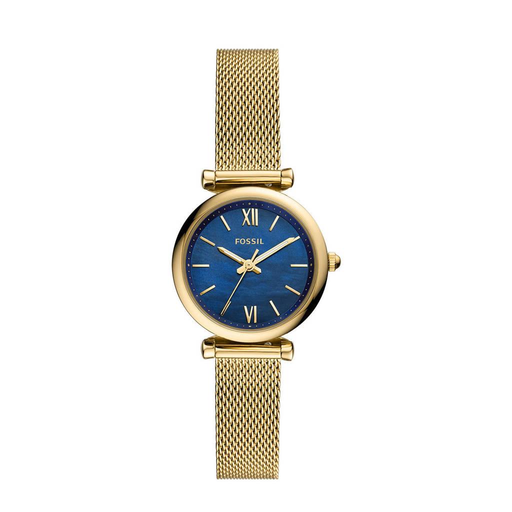 Fossil horloge ES5020 Carlie Mini Goud, Goudkleurig