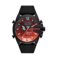 Diesel horloge DZ4548 Mega Chief Zwart