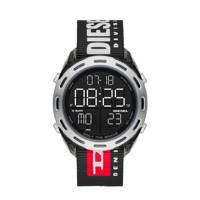 Diesel horloge DZ1914 Crusher Grijs, Zwart/grijs