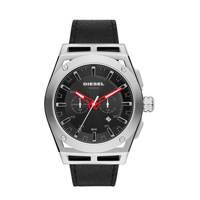 Diesel horloge DZ4543 Timeframe Zilver, zwart/zilverkleurig
