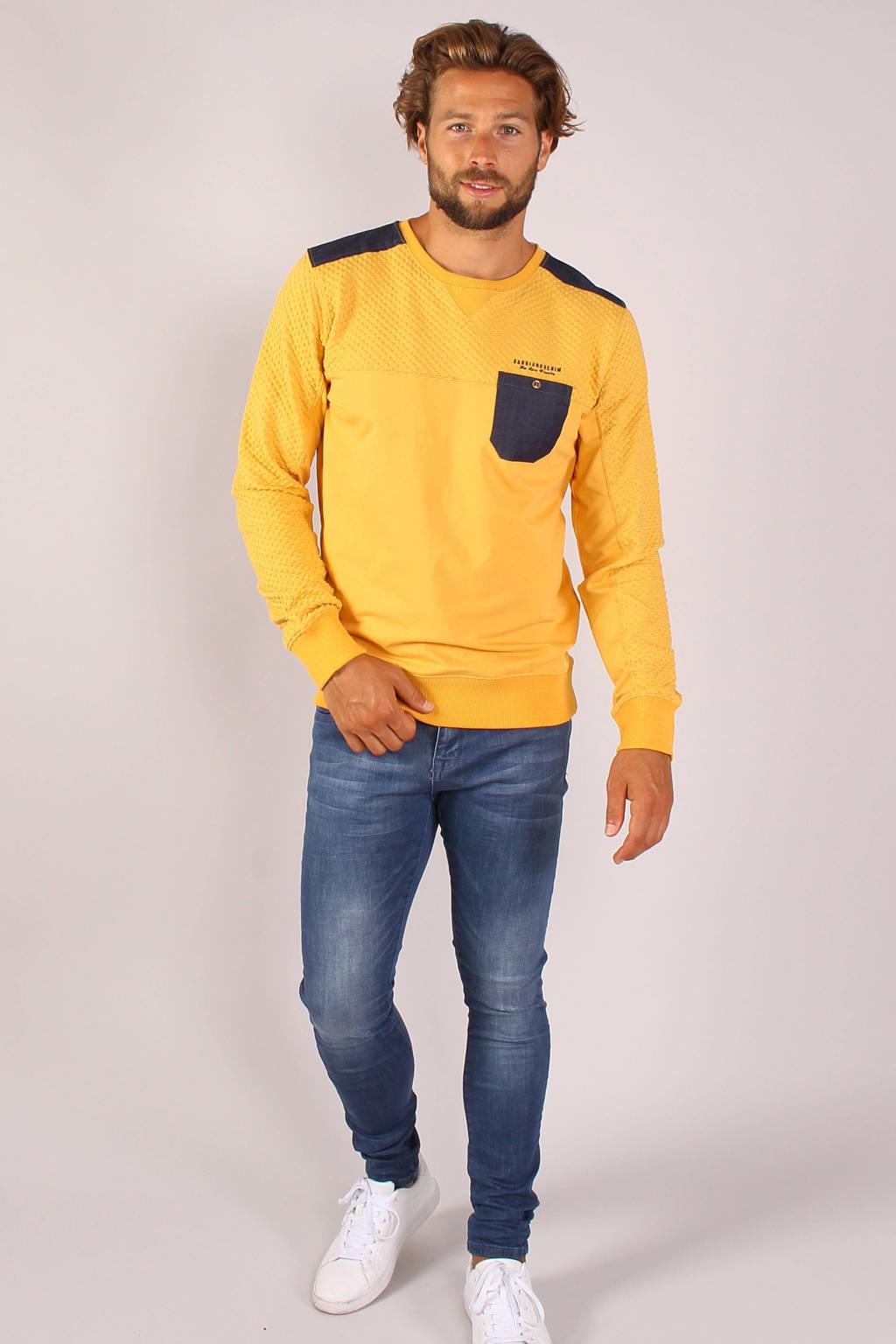 GABBIANO sweater geel, Geel
