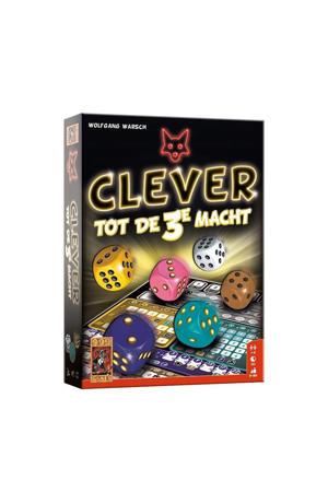 Clever tot de 3e macht dobbelspel