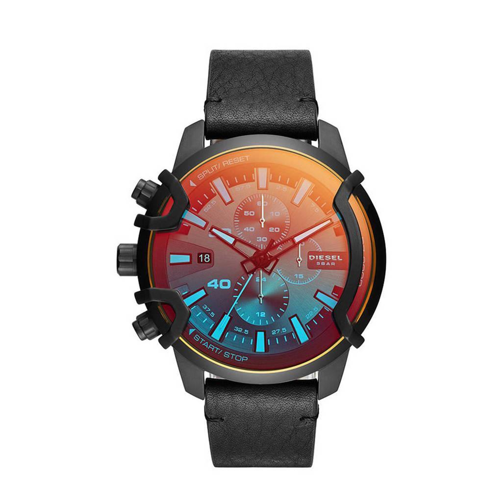 Diesel horloge DZ4519 Griffed Zwart
