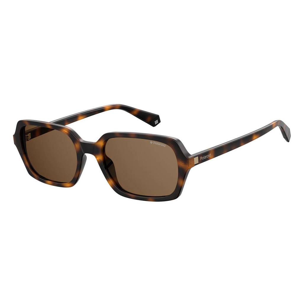 Polaroid zonnebril 6089/S donkerbruin
