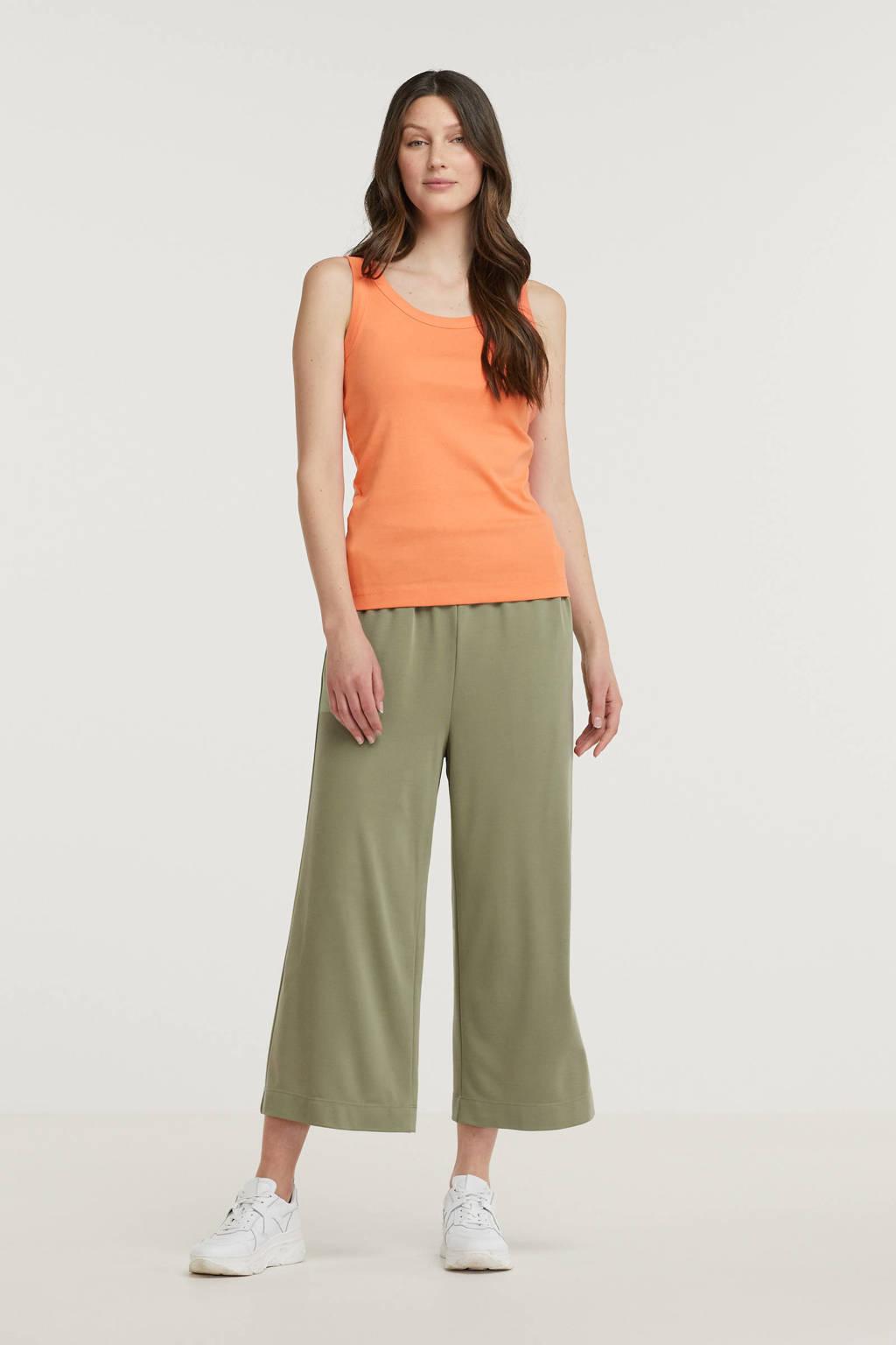 ESPRIT Women Casual singlet oranje, Oranje
