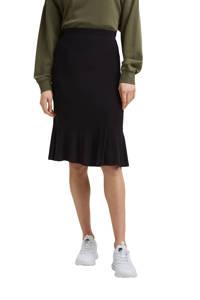 edc Women midi rok zwart, Zwart